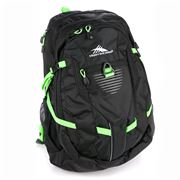 High Sierra - Aggro Black/Lime Laptop Backpack