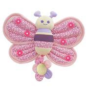 Little Bird Told Me - Billowy Butterfly Twinkles Cot Toy