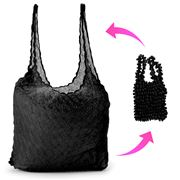 AT - Bubble Bag Black