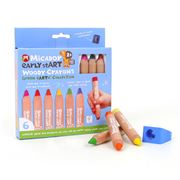 Micador - Early Start Woody Crayons Set 6pce