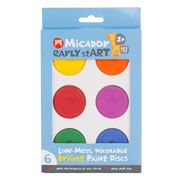 Micador - Low Mess Washable Bright Paint Discs