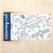 Mudpuppy - Colouring Paper Roll Outer Space