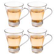 Bormioli Rocco - Roma Tea Glass Set 4pce