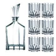 Nachtmann - Aspen Whisky Decanter & 6 Tumbler Set