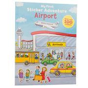 Book - My First Sticker Adventure: Airport
