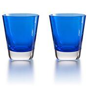 Baccarat - Mosaique Tumbler Blue Set 2pce