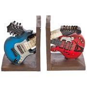 Bookend - Blue & Red Guitar