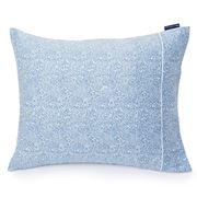 Lexington - Printed Sateen Pillowcase Blue/White 65x65cm
