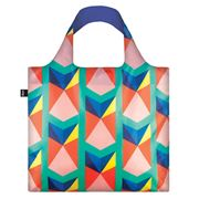 LOQI - Geometric Collection Triangles Reusable Shopping Bag
