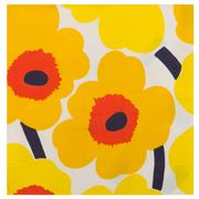 Marimekko - Unikko Lunch Napkin Dark Yellow Set 20pce