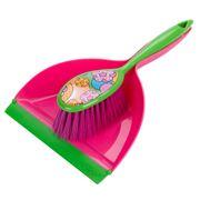 Vigar - Lola Floral Dust Pan & Brush Set