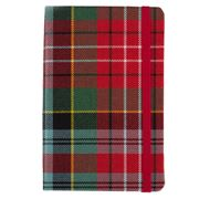 Waverley Scotland - Tartan Cloth Commonplace Pocket Notebook
