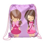 Bobble Art - Dolls Drawstring Bag