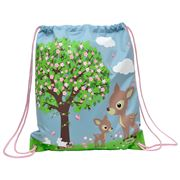 Bobble Art - Woodland Animals Drawstring Bag