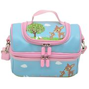 Bobble Art - Woodland Animals Large Lunch Box