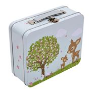Bobble Art - Woodland Animals Tin Suitcase