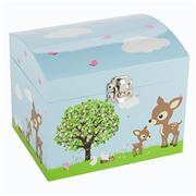 Bobble Art - Woodland Animals Dome Musical Box
