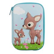 Bobble Art - Woodland Animals Hard Shell Pencil Case