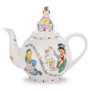 Cardew Design - Alice In Wonderland Teapot w/ Mad Hatter Lid