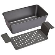 Chicago Metallic - Specialty Healthy Meatloaf Pan Set