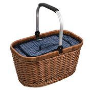 Avanti - Insulated Carry Basket Navy Herringbone