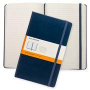 Moleskine - Classic Hd Cover L Ruled Notebook Sapphire Blue