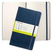 Moleskine - Classic Hd Cover L Plain Notebook Sapphire Blue