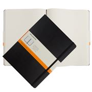 Moleskine - Classic Hard Cover Ruled X-Large Notebook Black