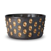L'objet - Coba Bowl Aged Bronze & Gold Medium