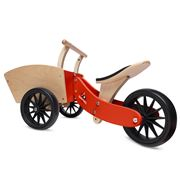 Kinderfeets - Cargo Trike Racing Red