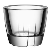 Kosta Boda - Bruk Clear Votive Candle Holder