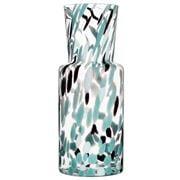 Kosta Boda - Gran Vase Green/Black 30cm Large