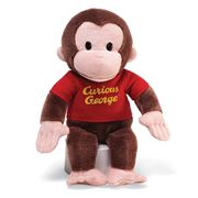 Gund - Red Shirt Curious George Plush Toy 30cm