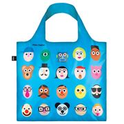 LOQI - Stephen Cheetam Faces II Reusable Bag