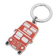 Halcyon Days - Big Red London Bus Key Ring