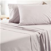 Sheridan - Everyday Percale Sheet Set Silver Queen