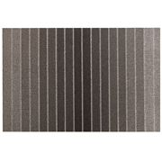 Chilewich - Block Stripe Indoor/Outdoor Mat Taupe 61x91cm