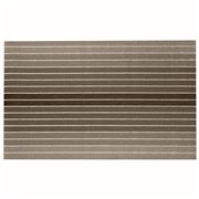 Chilewich - Block Stripe Indoor/Outdoor Mat Taupe 91x152cm