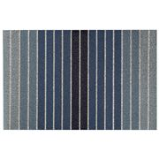 Chilewich - Block Stripe Denim Indoor/Outdoor Mat 61x91cm