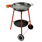 Chef Inox - Paella Set Stand + Tray Andreu Pan 45cm