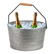 Chef Inox - Coney Island Galvanised Beverage Tub w/Handle