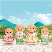 Sylvanian Families - Toy Poodle Family Set