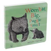 Book - Wombat Big Puggle Small