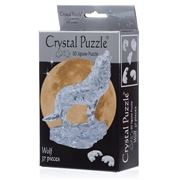 Games - 3D Crystal Jigsaw Puzzle Clear Wolf