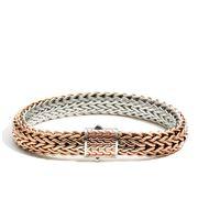 John Hardy - Men's Classic Chain Bronze Silver Bracelet M