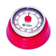 CDN - Compact Mechanical Timer Red