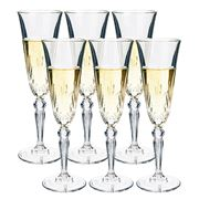 RCR Crystal - Melodia Champagne Flute Set 6pce 160ml