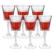 RCR Crystal - Timeless Red Wine Goblet Set 6pce 298ml