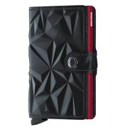 Secrid - Prism Leather Black/Red Mini Wallet