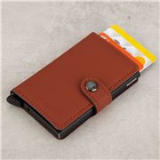 Secrid - Leather Mini Wallet Matte Brick